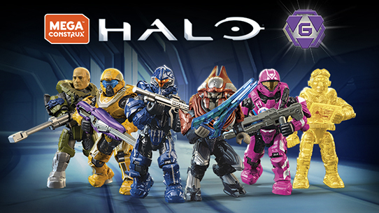 New MEGA Construx Halo Heroes Bundle
