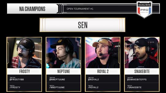 Top 8 NA Halo 5 Teams