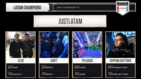 Top 8 LATAM Halo 5 Teams
