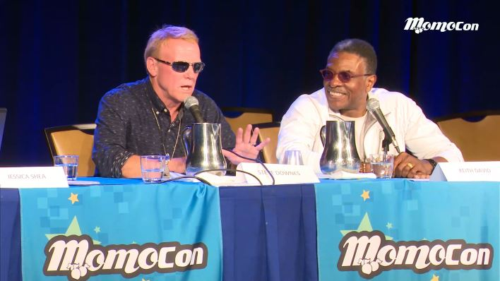 Steve Downes & Keith David