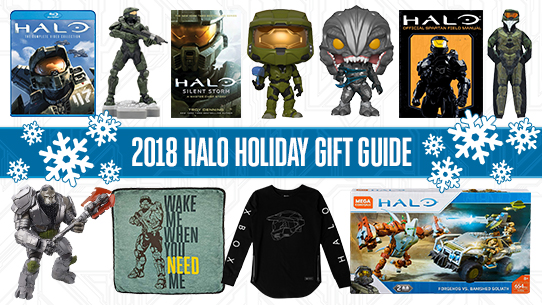 2018 HALO HOLIDAY GIFT GUIDE