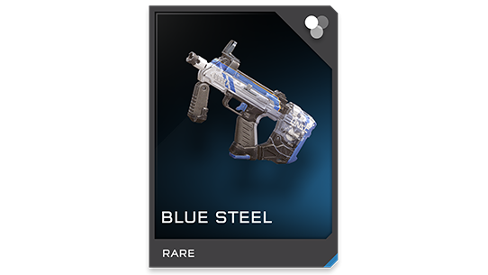 Blue Steel SMG - Rare