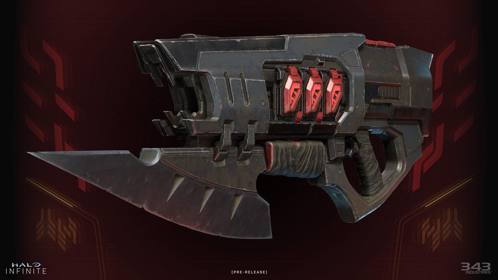 Render of a Ravager on dark Banished background