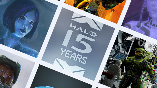 Halo 15th Anniversary Celebration