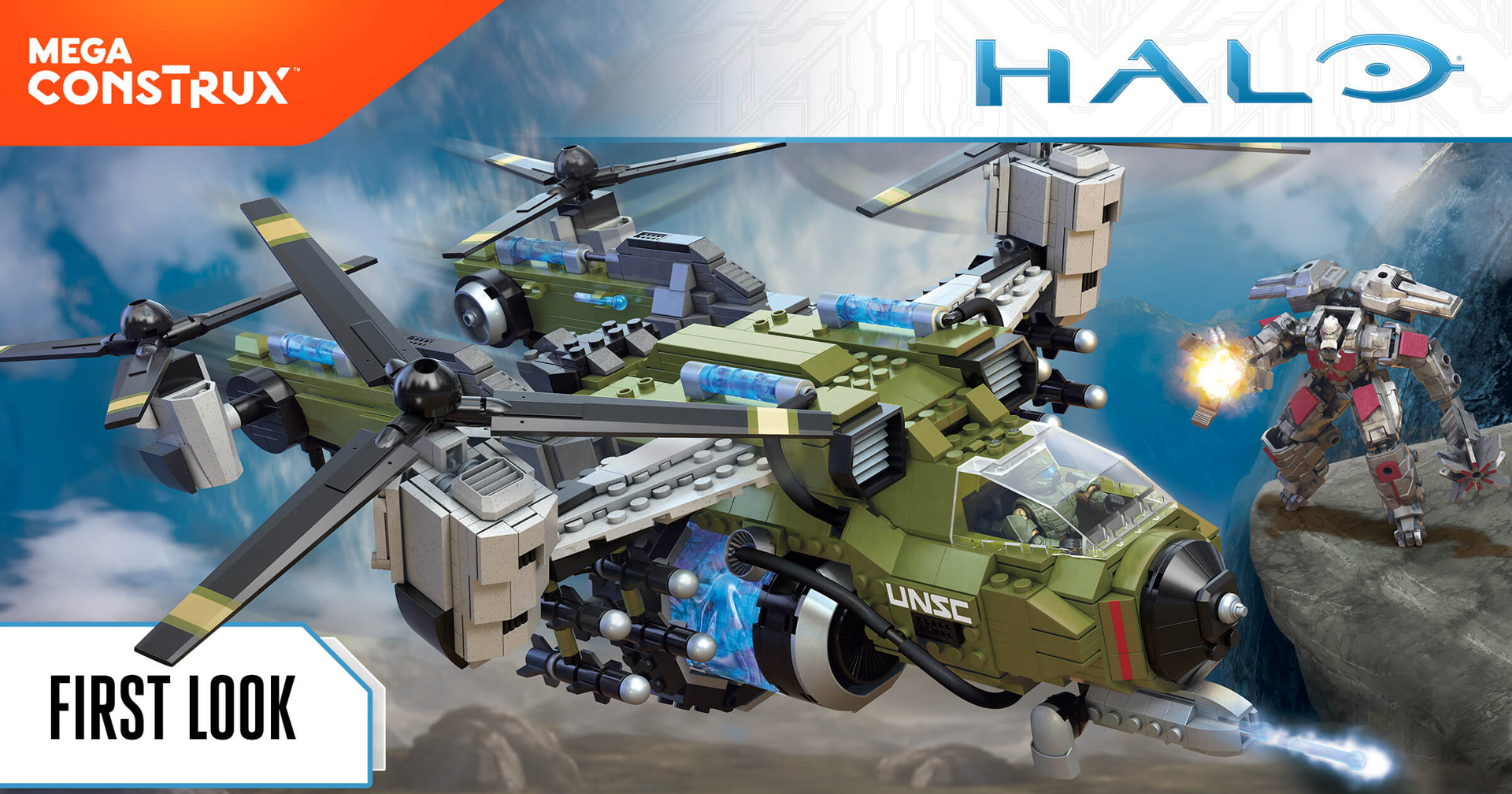 Mega Construx @ Toy Fair 2018 | Halo Gear | Halo - Official Site