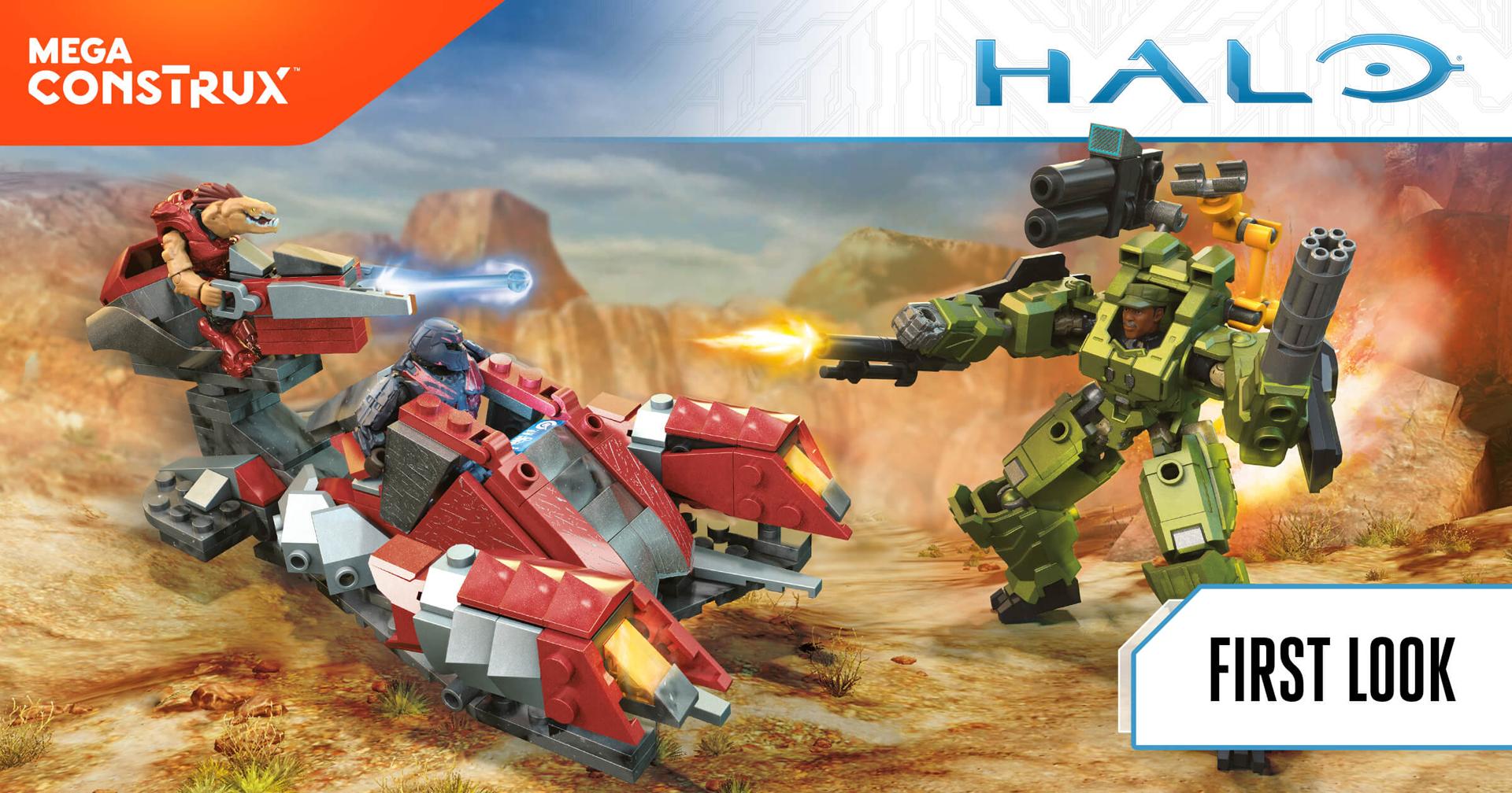 Mega Construx @ Toy Fair 2018   Halo Gear   Halo - Official Site