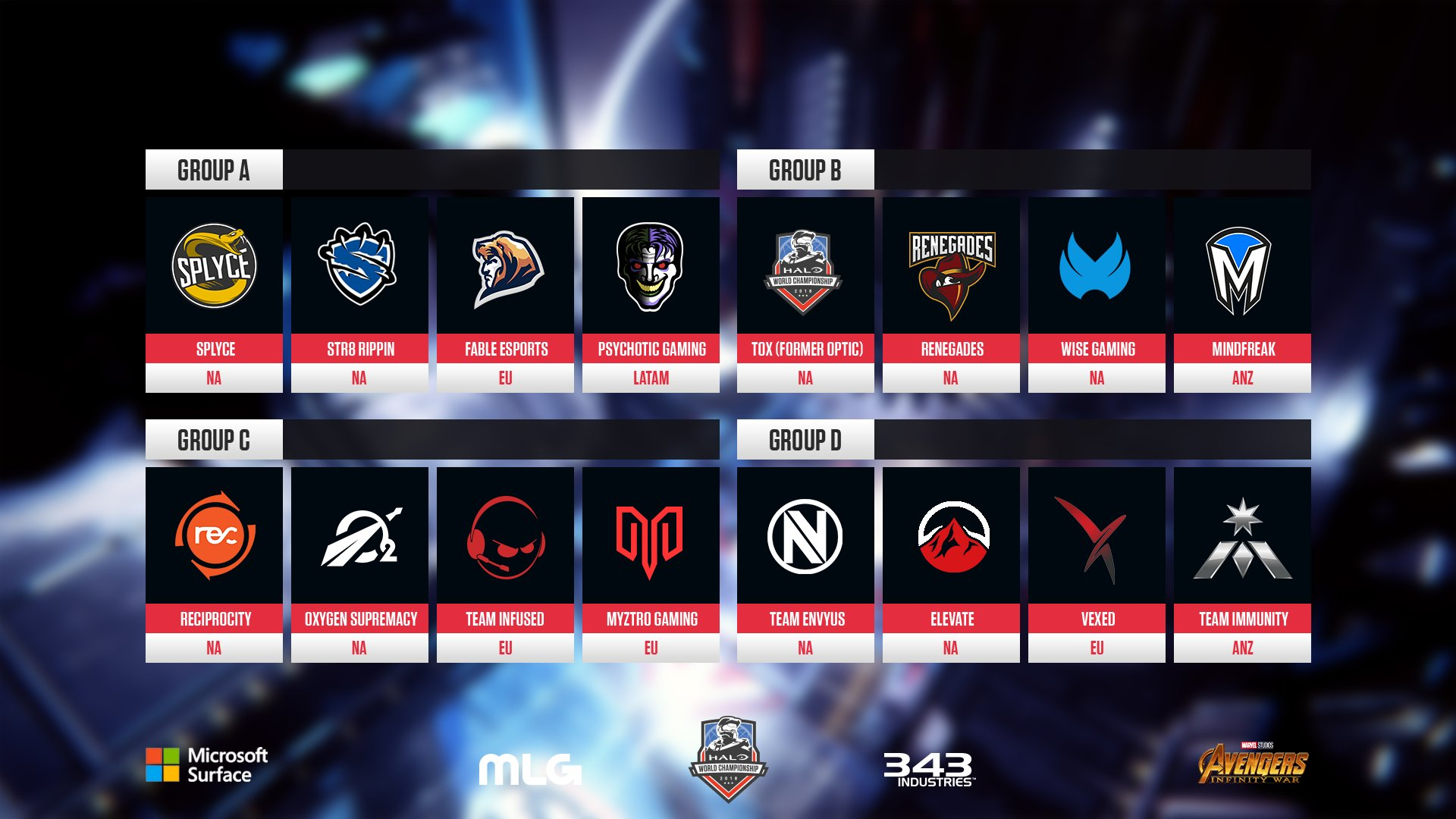 Halo global championship prizes for adults