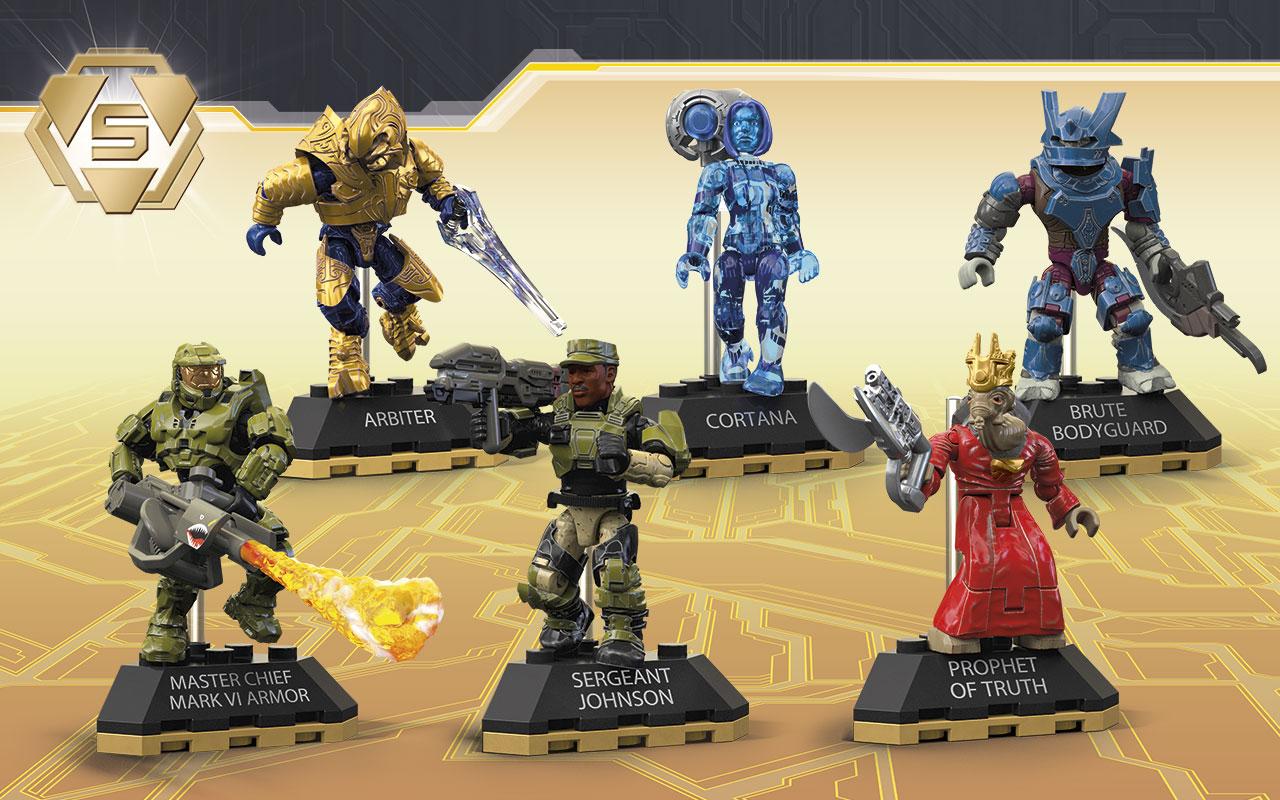 HALO Mega Bloks Construx Elite Variant Mini Figure You Choose