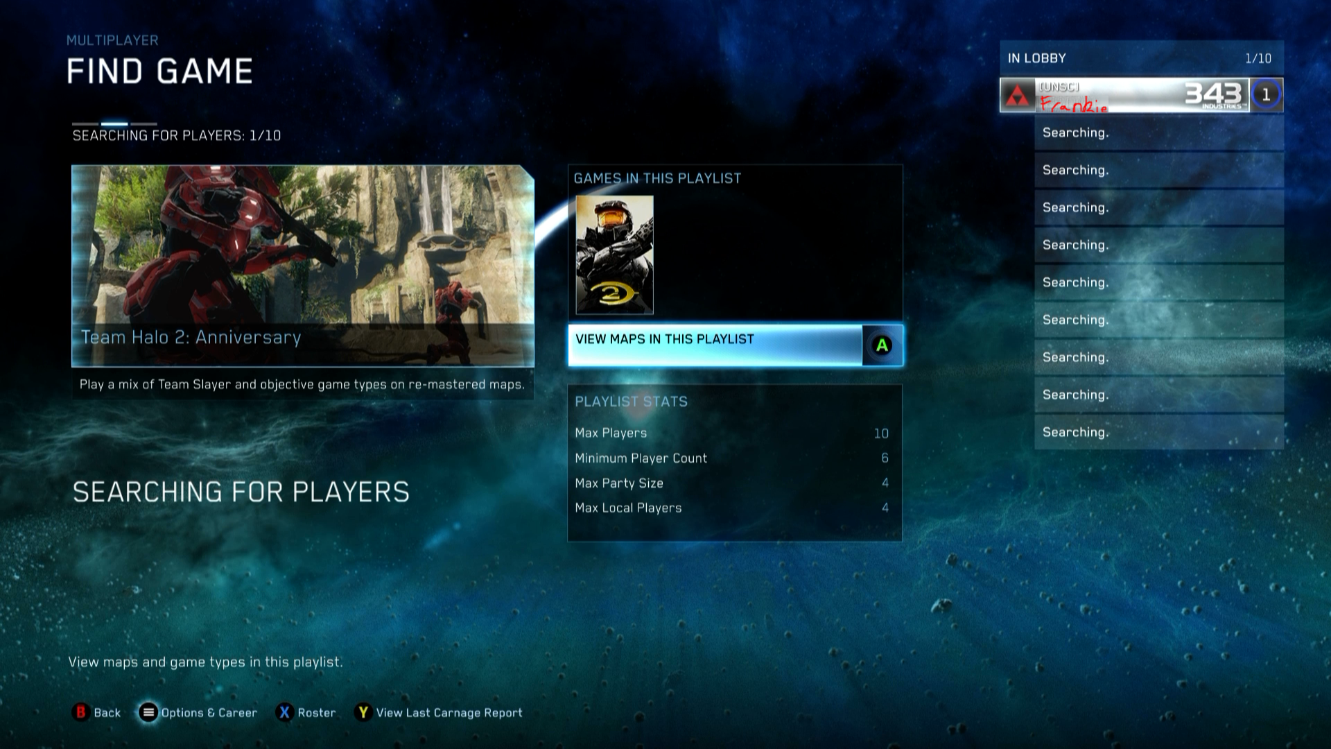 The Halo Collection's Online Multiplayer Isn't Working Properly