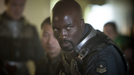 Halo: Nightfall exclusive image featuring Mike Colter as Agent Locke