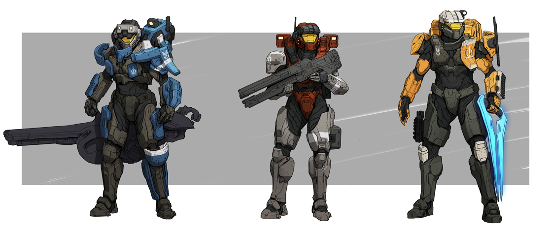 Omega Team Halo 6 Armor Customization Halo Universe Forums