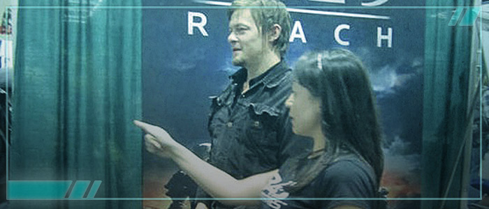 bs angel and Norman Reedus