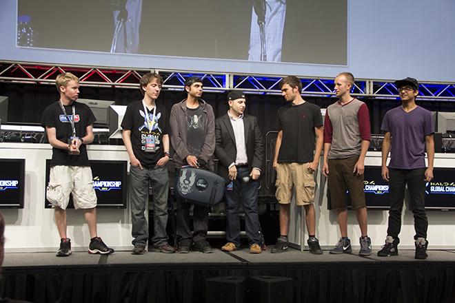 Halo Global Championship Top Six Finalists