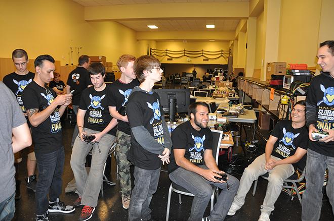 Halo Global Championship Top 8 Backstage