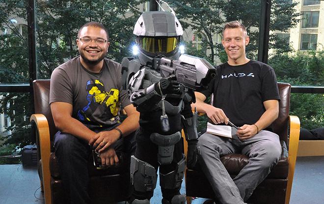 Halo Mini Chief Golden Boy and Bravo
