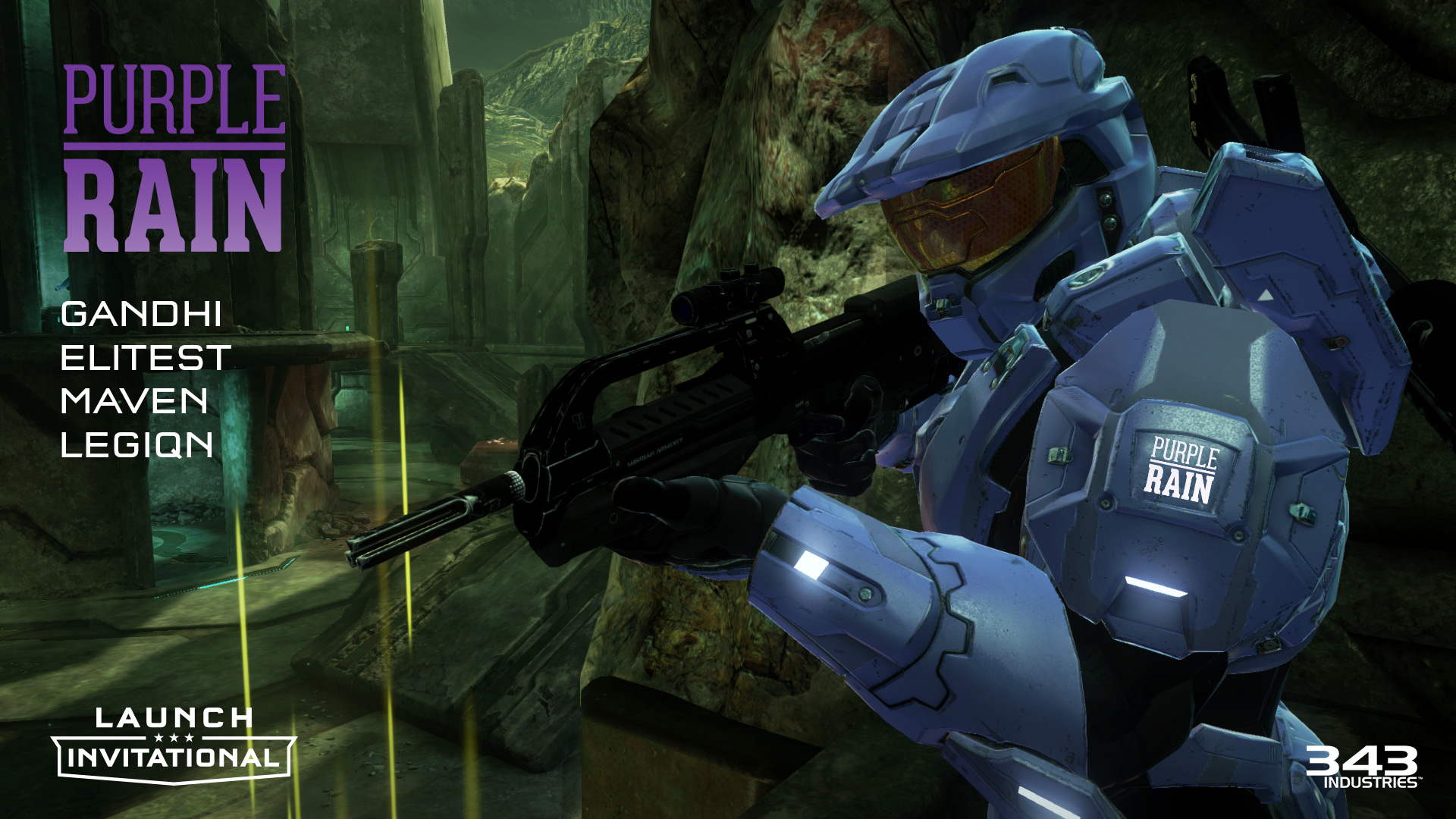 Launch Invitational Wallpapers Halo The Master Chief Collection