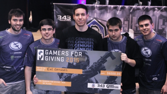 Gamers for Giving 2015 & Battle of Europe recap