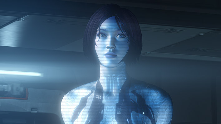 Cortana Characters Universe Halo Official Site