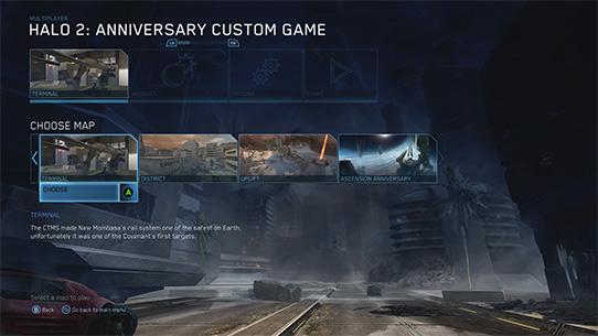 Parties personnalisées Halo: 2 Anniversary