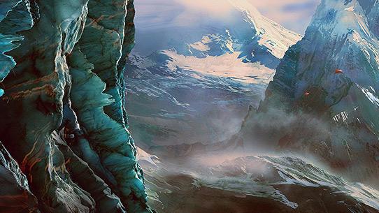 Insurrection - Ébauche panorama arctique