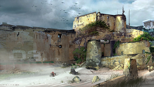 Muros de la fortaleza