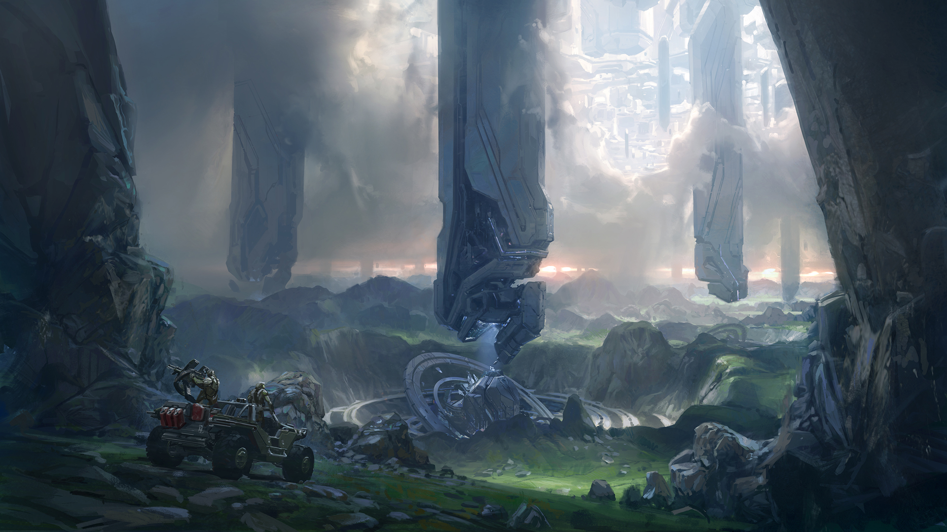 Halo 4 Video Games Cortana Artwork - WallDevil