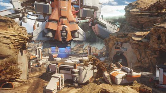 Warzone de Halo 5: Guardians (Halo 5/Firefight/IA/Team/Baptême du Feu/UNSC Infinity/Requiem/Escadron Majestic/Missions/Saisons/Histoire/Major/Maps) H5-guardians-establishing-warzone-arc-blast-zone-a1792e2080494ccc8bb377e7f0cf28c6