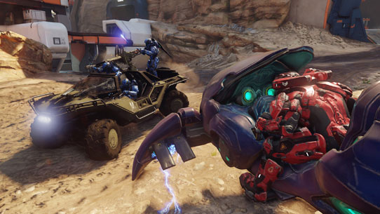Warzone Q&A for Halo 5: Guardians