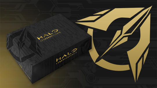 Halo Legendary Crate: Order Now!