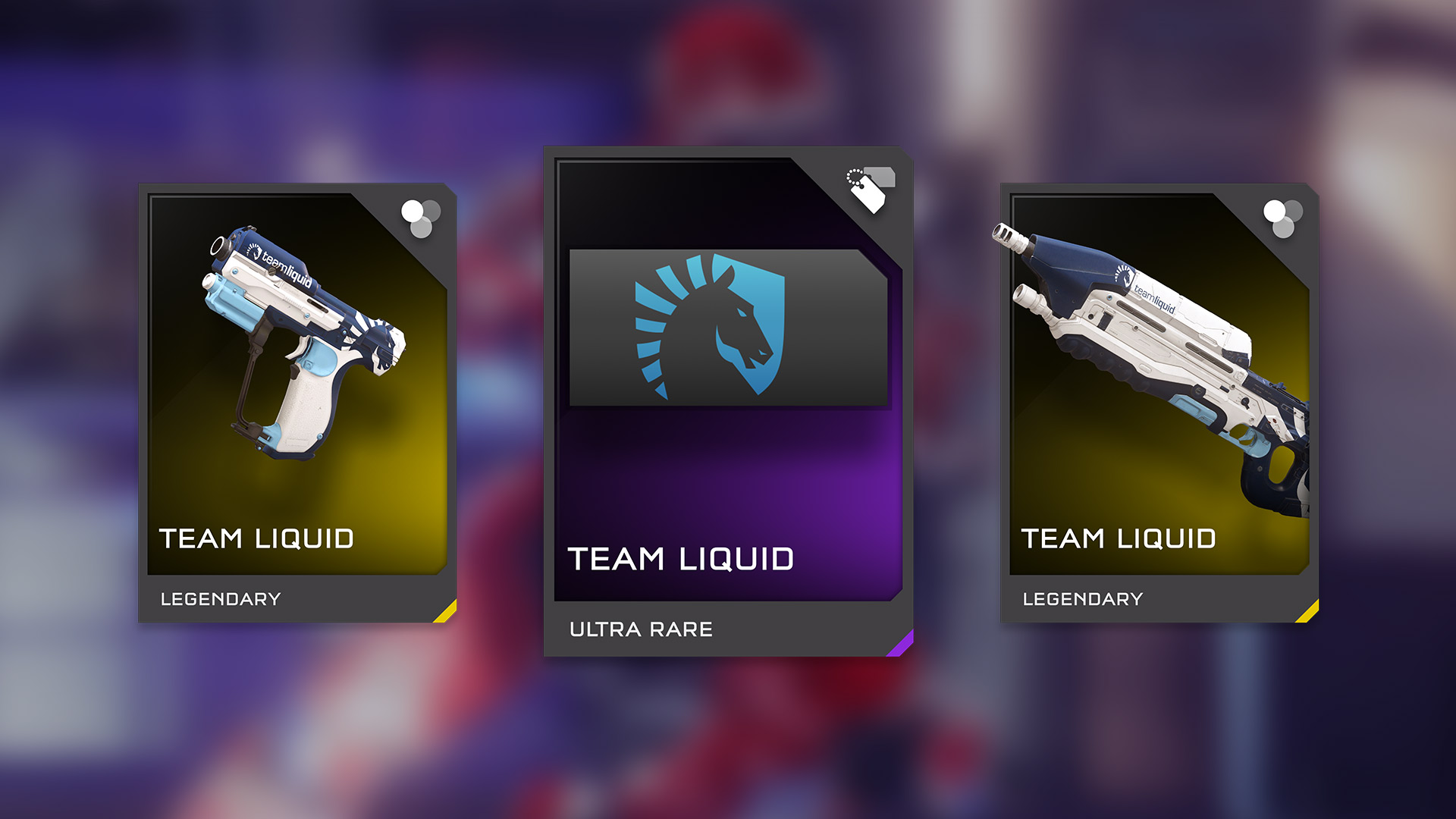 HCS Team Liquid REQ Pack <br> Available Now