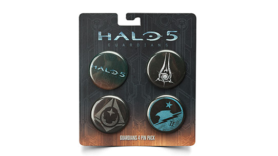 HALO 5: GUARDIANS 4 BUTTON PACK