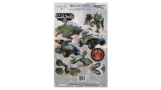 Halo Wars 2 UNSC Vehicles TECH SKIN PACK