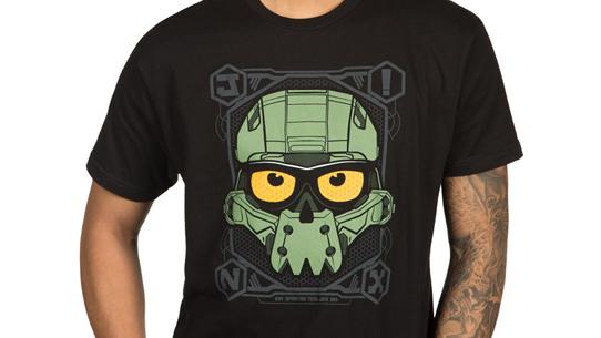 J!NX Halo Spartan Skully Tee