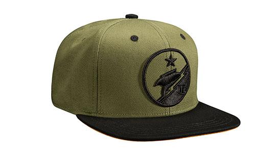 Blue Team Snap Back Hat