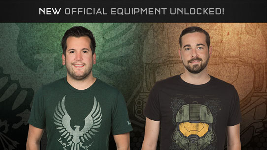 New Halo Apparel available now