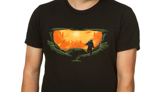 Master Chief Silhouette Men's Tee