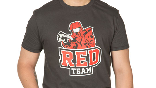RVB RED TEAM JERSEY TEE