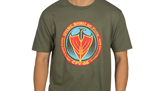 HALO WARS 2 SPIRIT OF FIRE TEE