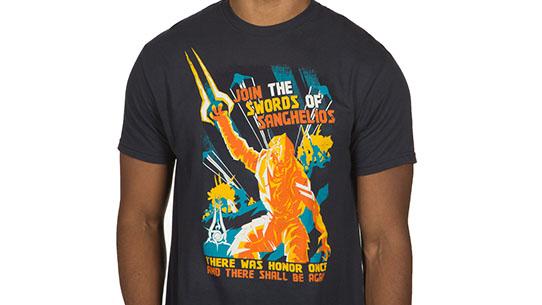 Swords of Sanghelios Tee