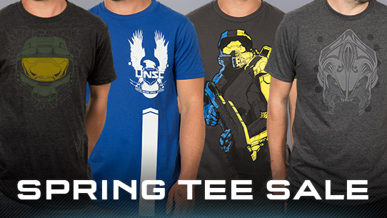Spring Tee Sale going on now through april 14th!