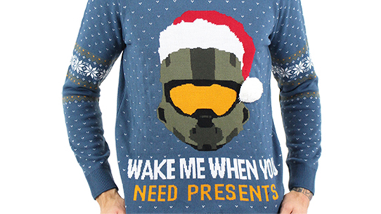 Halo Ugly Christmas Sweater