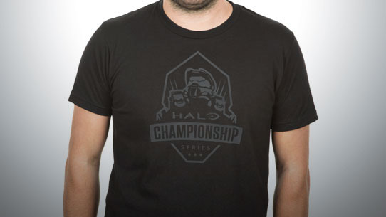 HCS apparel available in the Halo Shop