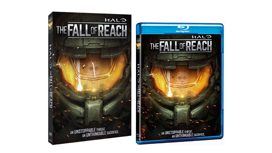 HALO: THE FALL OF REACH DVD & BLU-RAY