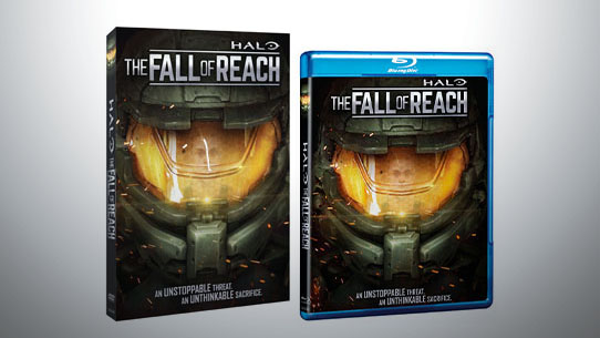 Halo: The Fall of Reach DVD & Blu-ray available for pre-order