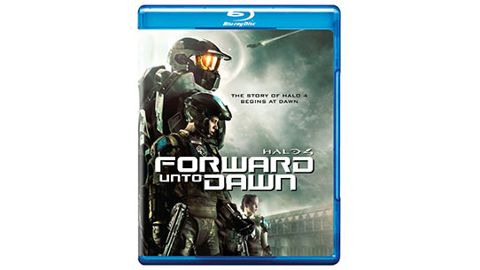 Halo 4: Forward Unto Dawn Blu-Ray/DVD