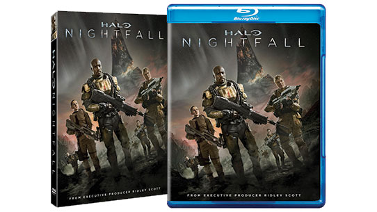 Halo: Nightfall DVD/Blu-Ray