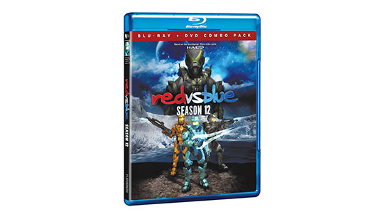 Red vs. Blue Season 12 DVD/Blu-Ray