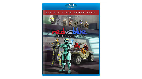 Red vs. Blue Season 13 DVD/Blu-Ray
