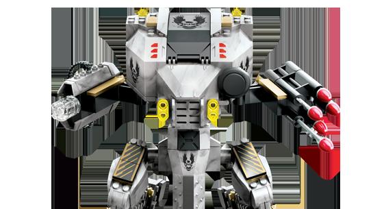 Mega Bloks Wireless Attack Mantis