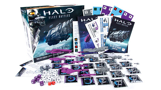 Halo: Fleet Battles, The Fall of Reach